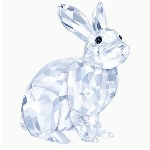 Swarovski NIB Rabbit Bunny Clear Crystal Figurine